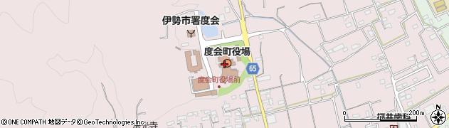 三重県度会町(度会郡)周辺の地図