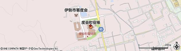 三重県度会郡度会町周辺の地図