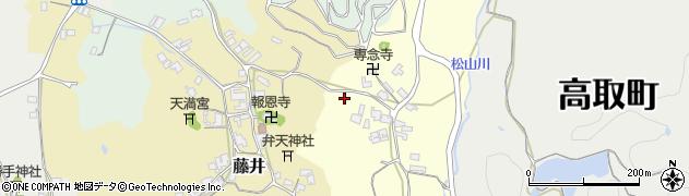 奈良県高市郡高取町羽内336周辺の地図
