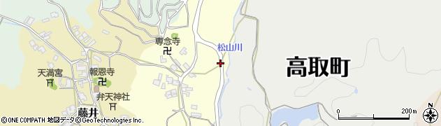 奈良県高市郡高取町羽内周辺の地図