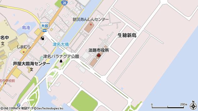 〒656-2100 兵庫県淡路市(以下に掲載がない場合)の地図