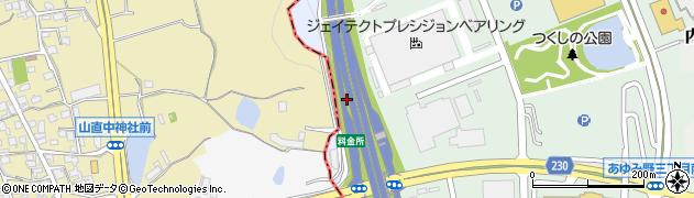 大阪府和泉市唐国町周辺の地図