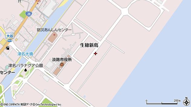 〒656-2225 兵庫県淡路市生穂新島の地図