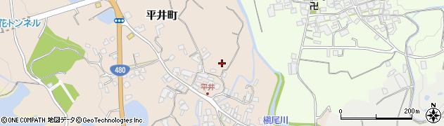大阪府和泉市平井町周辺の地図