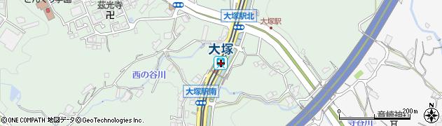 広島県広島市安佐南区周辺の地図