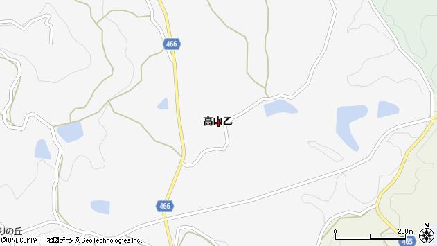 〒656-1551 兵庫県淡路市高山の地図