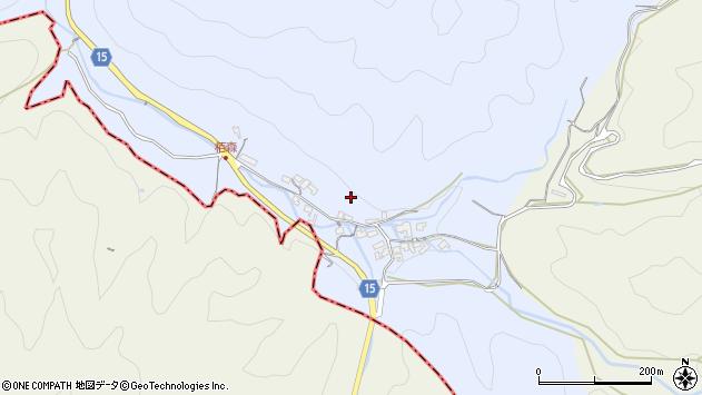 〒634-0124 奈良県高市郡明日香村栢森の地図