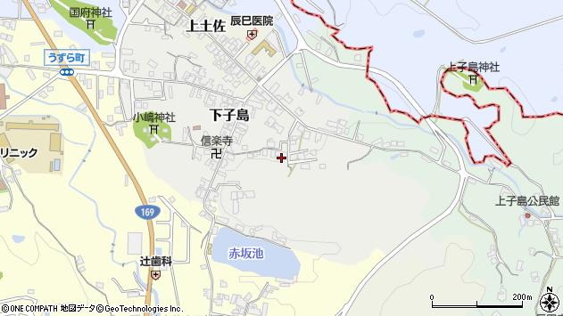 〒635-0151 奈良県高市郡高取町下子島の地図