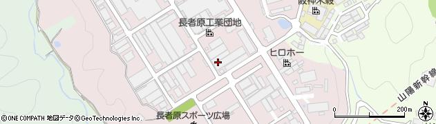 広島県尾道市長者原周辺の地図