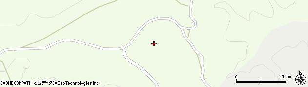 山口県萩市黒川(上莚野)周辺の地図