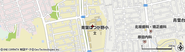 大阪府和泉市はつが野周辺の地図