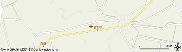 山口県萩市吉部上周辺の地図