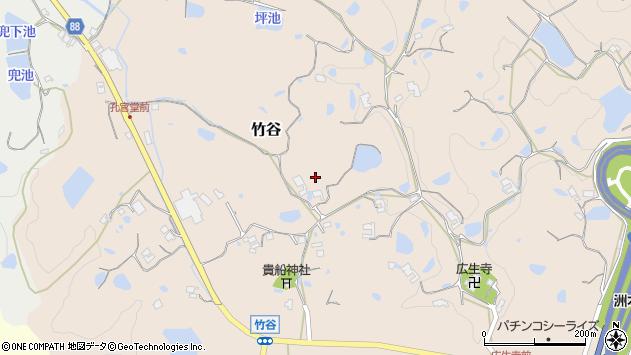 〒656-1524 兵庫県淡路市竹谷の地図