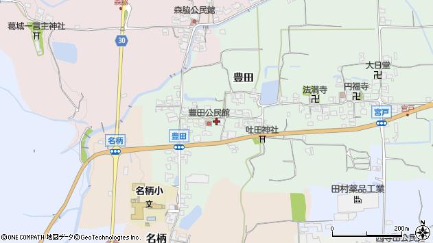 〒639-2317 奈良県御所市豊田の地図