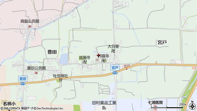 〒639-2315 奈良県御所市宮戸の地図