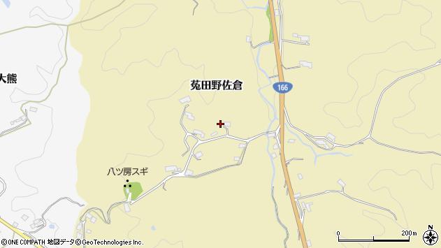 〒633-2224 奈良県宇陀市菟田野佐倉の地図
