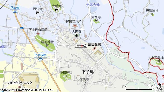 〒635-0152 奈良県高市郡高取町上土佐の地図