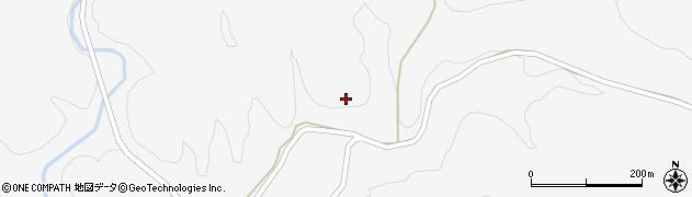 山口県萩市吉部下(吉部殿川)周辺の地図