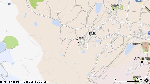 〒639-2246 奈良県御所市原谷の地図