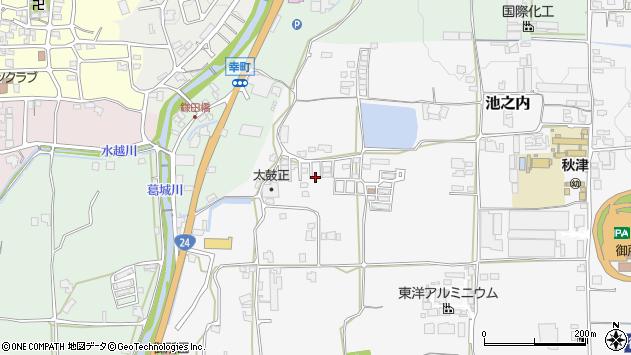 〒639-2278 奈良県御所市緑ケ丘の地図