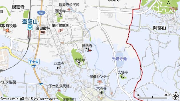 〒635-0153 奈良県高市郡高取町下土佐の地図