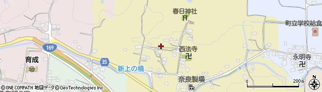 奈良県高市郡高取町薩摩周辺の地図