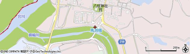 馬渕橋周辺の地図