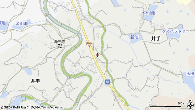 〒656-1525 兵庫県淡路市井手の地図