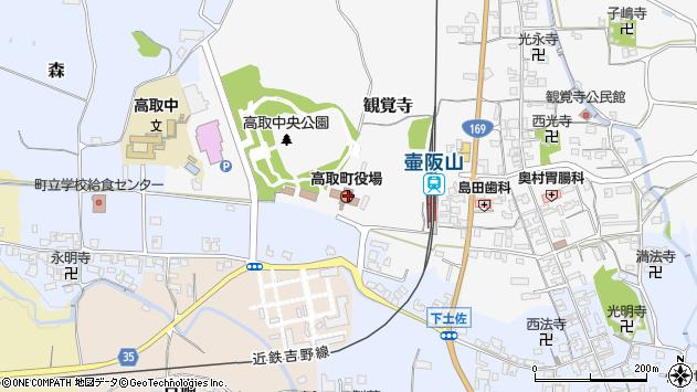 〒635-0100 奈良県高市郡高取町(以下に掲載がない場合)の地図