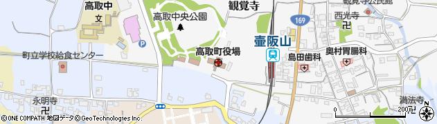 奈良県高取町(高市郡)周辺の地図