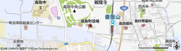 奈良県高市郡高取町周辺の地図