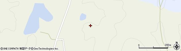 山口県萩市吉部上(江良)周辺の地図