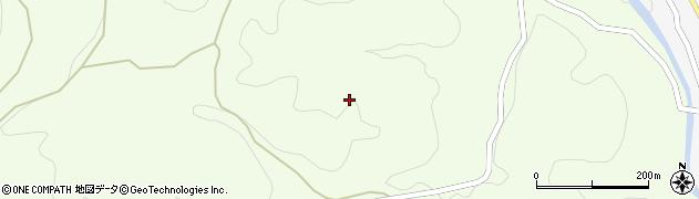 山口県萩市黒川(仁保谷)周辺の地図