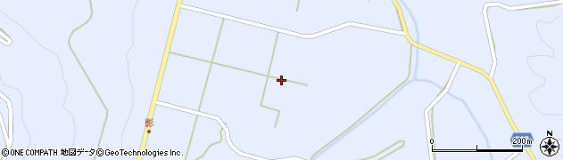 山口県萩市高佐下(影畑)周辺の地図