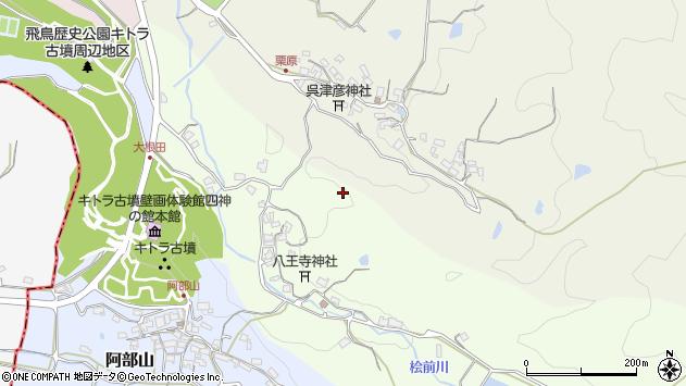 〒634-0133 奈良県高市郡明日香村大根田の地図