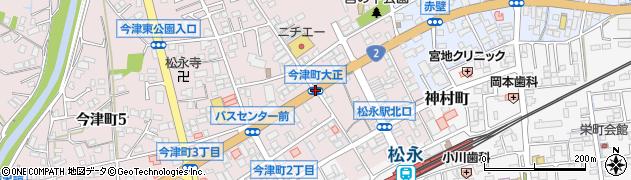 今津町大正周辺の地図