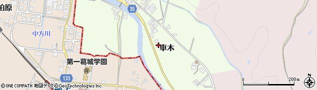 奈良県高市郡高取町車木388周辺の地図