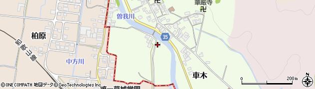 奈良県高市郡高取町車木434周辺の地図