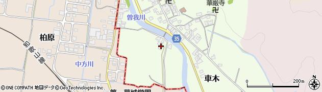 奈良県高市郡高取町車木432周辺の地図