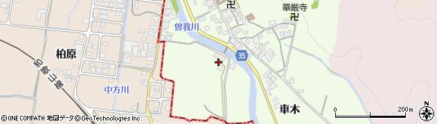 奈良県高市郡高取町車木431周辺の地図