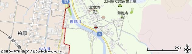 奈良県高市郡高取町車木408周辺の地図
