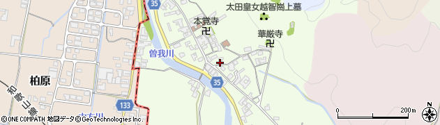 奈良県高市郡高取町車木253周辺の地図