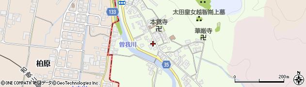 奈良県高市郡高取町車木507周辺の地図