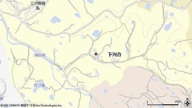 〒656-1522 兵庫県淡路市下河合の地図
