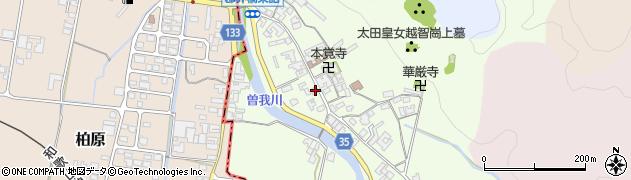 奈良県高市郡高取町車木501周辺の地図