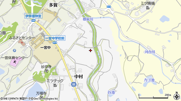〒656-1526 兵庫県淡路市中村の地図