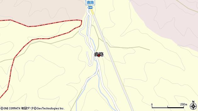 〒633-0027 奈良県桜井市鹿路の地図