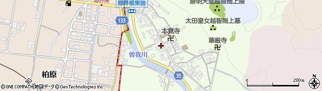 奈良県高市郡高取町車木500周辺の地図