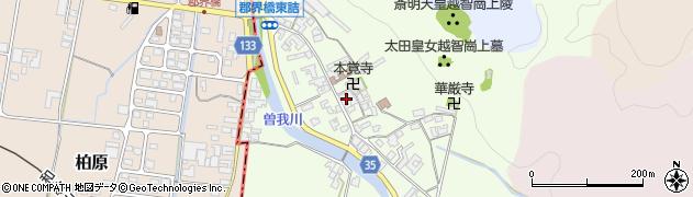 奈良県高市郡高取町車木240周辺の地図