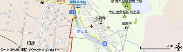 奈良県高市郡高取町車木498周辺の地図